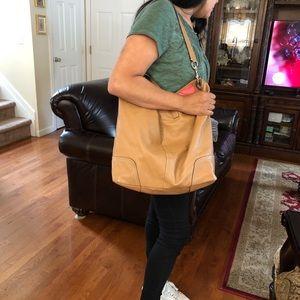 Coach Large Duffle Bag.